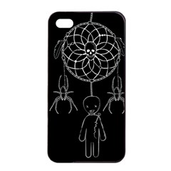 Voodoo Dream Catcher  Apple Iphone 4/4s Seamless Case (black)