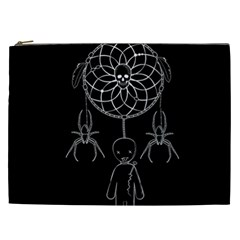 Voodoo Dream Catcher  Cosmetic Bag (xxl)