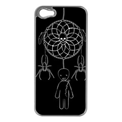 Voodoo Dream Catcher  Apple Iphone 5 Case (silver)