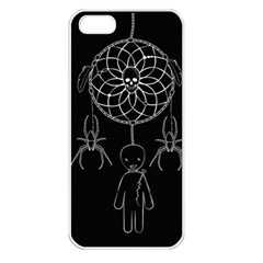 Voodoo Dream Catcher  Apple Iphone 5 Seamless Case (white)