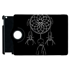 Voodoo Dream Catcher  Apple Ipad 3/4 Flip 360 Case