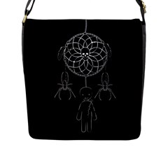 Voodoo Dream Catcher  Flap Messenger Bag (l)