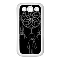 Voodoo Dream Catcher  Samsung Galaxy S3 Back Case (white)