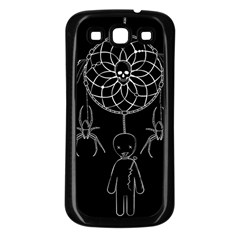 Voodoo Dream Catcher  Samsung Galaxy S3 Back Case (black)