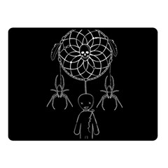 Voodoo Dream Catcher  Double Sided Fleece Blanket (small)