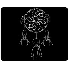 Voodoo Dream Catcher  Double Sided Fleece Blanket (medium)