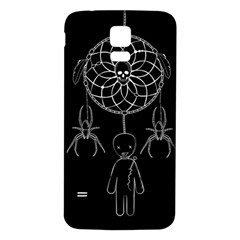Voodoo Dream Catcher  Samsung Galaxy S5 Back Case (white)