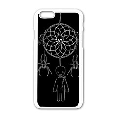 Voodoo Dream Catcher  Apple Iphone 6/6s White Enamel Case