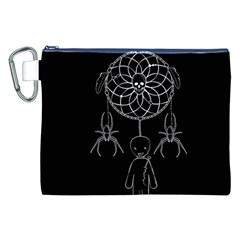 Voodoo Dream Catcher  Canvas Cosmetic Bag (xxl)