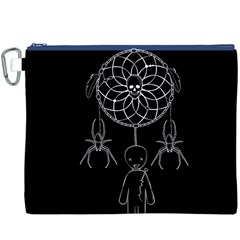 Voodoo Dream Catcher  Canvas Cosmetic Bag (xxxl)