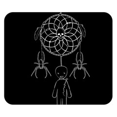 Voodoo Dream Catcher  Double Sided Flano Blanket (small)
