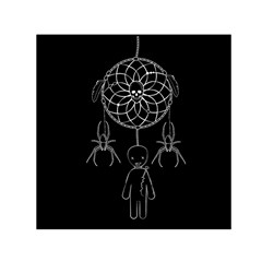 Voodoo Dream Catcher  Small Satin Scarf (square)