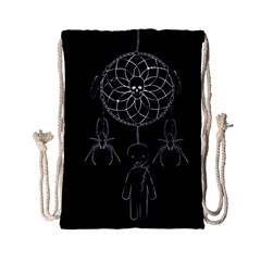 Voodoo Dream Catcher  Drawstring Bag (small)