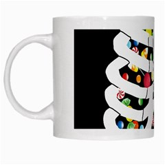 Trick Or Treat  White Mugs