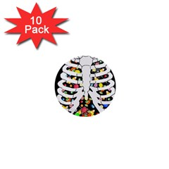Trick Or Treat  1  Mini Buttons (10 Pack)