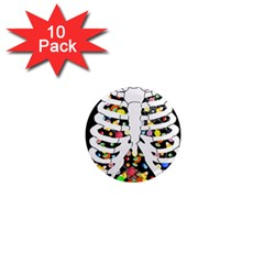 Trick Or Treat  1  Mini Magnet (10 Pack)