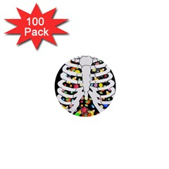 Trick Or Treat  1  Mini Buttons (100 Pack)