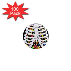 Trick Or Treat  1  Mini Magnets (100 Pack)