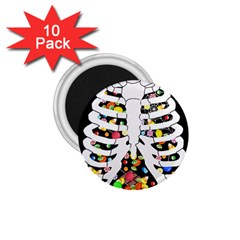 Trick Or Treat  1 75  Magnets (10 Pack)