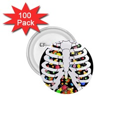 Trick Or Treat  1 75  Buttons (100 Pack)