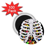 Trick Or Treat  1 75  Magnets (100 Pack)