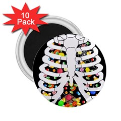 Trick Or Treat  2 25  Magnets (10 Pack)