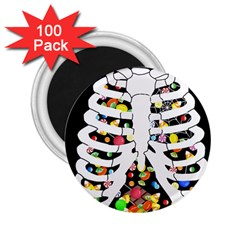 Trick Or Treat  2 25  Magnets (100 Pack)
