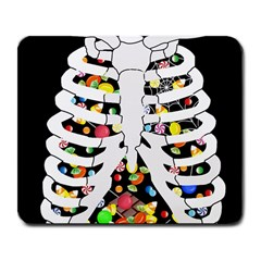 Trick Or Treat  Large Mousepads