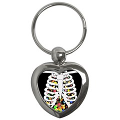 Trick Or Treat  Key Chains (heart)