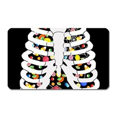Trick Or Treat  Magnet (rectangular)