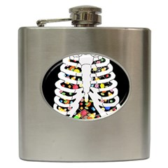 Trick Or Treat  Hip Flask (6 Oz)