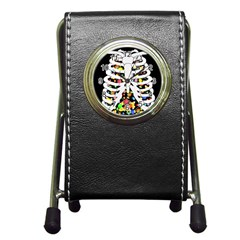 Trick Or Treat  Pen Holder Desk Clocks
