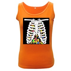 Trick Or Treat  Women s Dark Tank Top