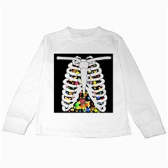 Trick Or Treat  Kids Long Sleeve T Shirts