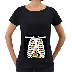 Trick Or Treat  Women s Loose Fit T Shirt (black)