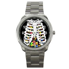 Trick Or Treat  Sport Metal Watch