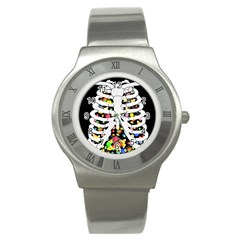 Trick Or Treat  Stainless Steel Watch