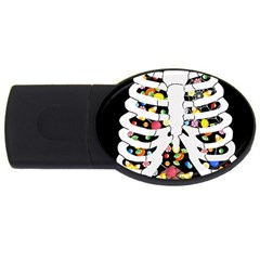 Trick Or Treat  Usb Flash Drive Oval (4 Gb)