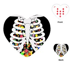 Trick Or Treat  Playing Cards (heart)