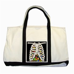 Trick Or Treat  Two Tone Tote Bag