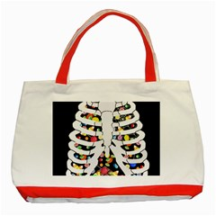 Trick Or Treat  Classic Tote Bag (red)
