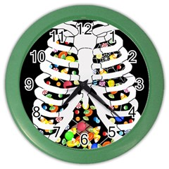 Trick Or Treat  Color Wall Clocks