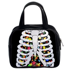 Trick Or Treat  Classic Handbags (2 Sides)