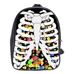 Trick Or Treat  School Bag (large)