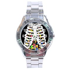 Trick Or Treat  Stainless Steel Analogue Watch