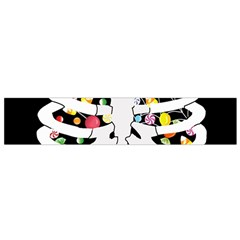 Trick Or Treat  Flano Scarf (small)
