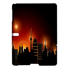 Gold Golden Skyline Skyscraper Samsung Galaxy Tab S (10 5 ) Hardshell Case