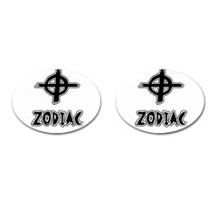 Zodiac Killer  Cufflinks (oval)