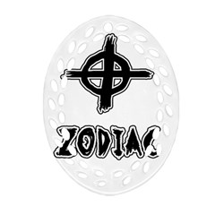 Zodiac Killer  Oval Filigree Ornament (two Sides)