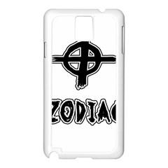 Zodiac Killer  Samsung Galaxy Note 3 N9005 Case (white)